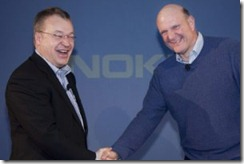 elopandballmer Nokia and Microsoft Deal