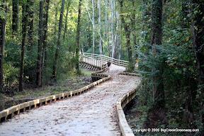 Forsyth Big Creek Greenway Woodwork