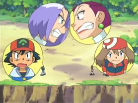 Em briga de marido e mulher... - Top 10: Eposódios censurados de Pokémon Nintendo Blast