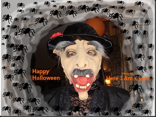 Greeting my site Halloween