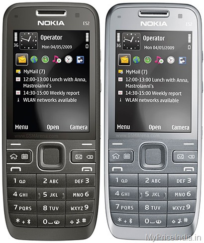 Nokia E52 Price in India