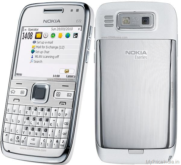 Nokia E72 Price in India