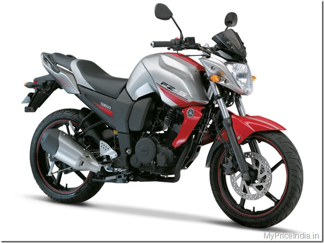 Yamaha fz s price in india bike price in india for Yamaha fz back tyre price