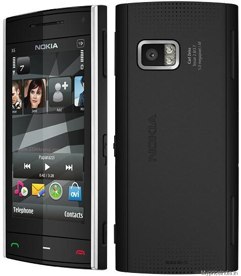 Nokia X6 8GB Price in India