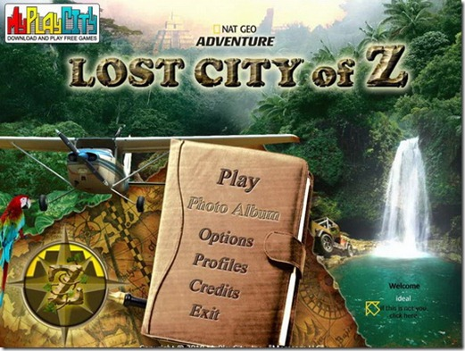 Lost City Of Z freeware game (5)