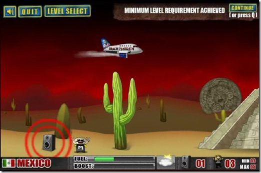 Iron Maiden Flight 666 flash game_ (4)