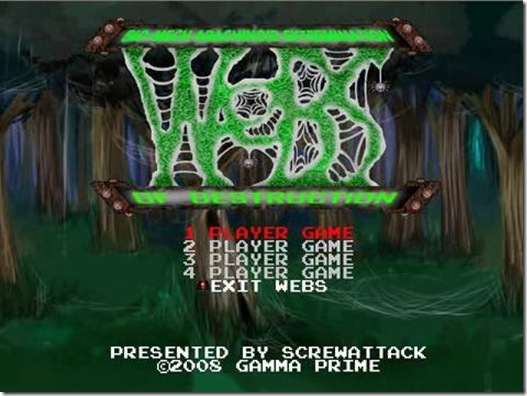 Webs of destruction freeware