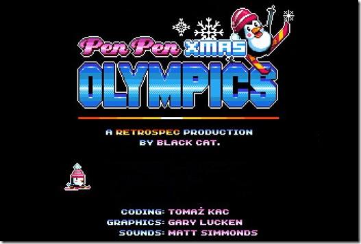 Pen Pen Xmas Olympics_