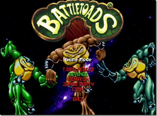 Battletoads freeware game