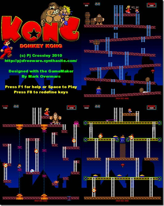 Donkey Kong Gamemaker Remake img (8)