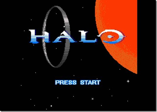 Pixel Force Halo 8 bit demake freeware game (1)