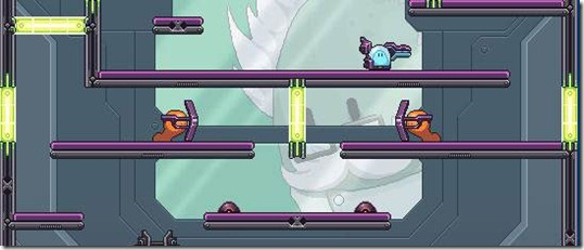 Test Subject Blue Nitrome free web game (2)