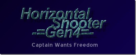 Horizontal Shooter GEN 4 freeware game