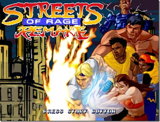 Streets of Rage remake free indie game (1)