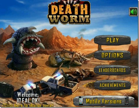 Death Worm remake 2011