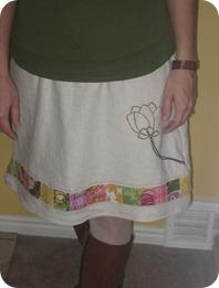 seam skirt 040