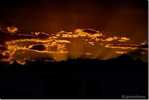 Puesta de sol I
