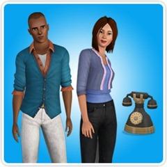 Brindes do Registro do The Sims 3 Gerações