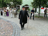 Lebende Stadtbilder präsentierten sich zum Stadtfest - der Landrat