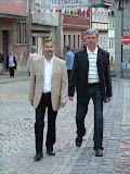 der Bürgermeister und sein Bauamtschef
