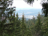 Blick zum Gewerbegebiet Friedberg