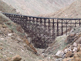 The spectacular Goat Canyon Trestle in Carrizo Gorge
