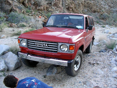 Toyota land Cruiser FJ60 in Anza Borrego Desert State Park