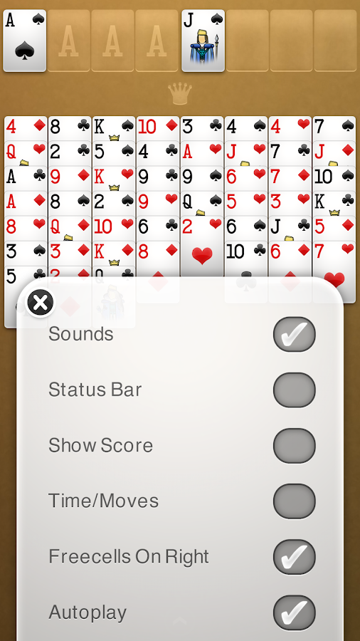 FreeCell Solitaire+ Screenshot 4