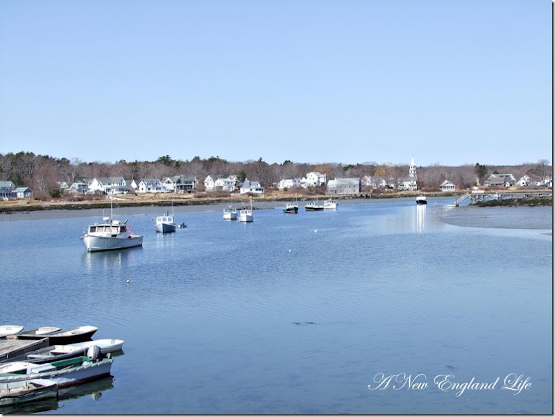 Cape porpoise Harbor boats