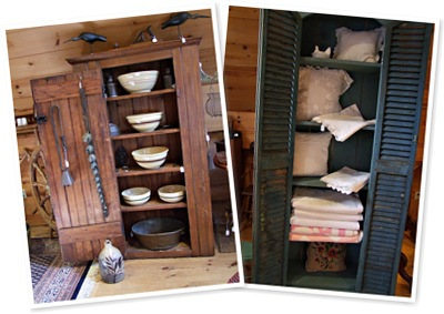 View country cupboards