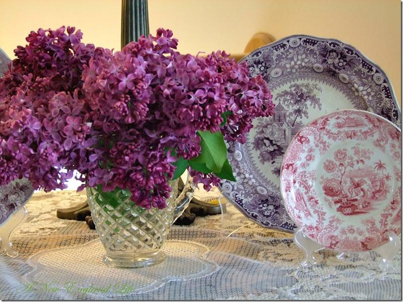Lilac plates