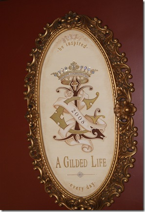 001 Gilded Life Plaque