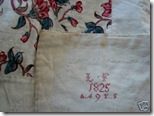 label dated 1825 L F_ A...d 9 Y...S