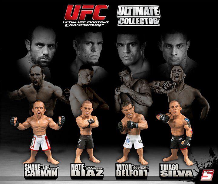 Игрушки бойцов UFC