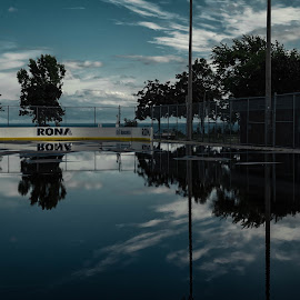 Reflections by Nick Kelleher - City,  Street & Park  City Parks ( water, clouds, sky, toronto, reflections, etobicoke )