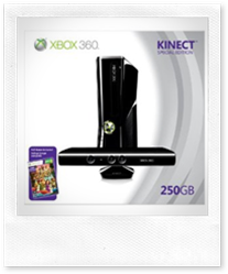 Xbox 360 250GB + Kinect Bundle