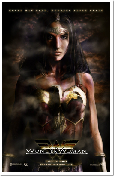 Fan-Made Wonder Woman Movie Poster