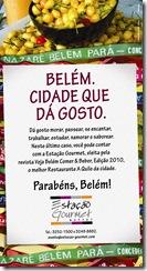 Anúncio Estação Gourmet aniversário de Belém - LB