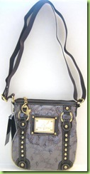 NEW! BABY PHAT CROSS BODY HANDBAG PURSE, BROWN, NWT1