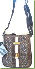 AUTHENTIC! BABY PHAT HANDBAG PURSE, BROWN, NWT1