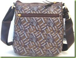 AUTHENTIC! BABY PHAT HANDBAG PURSE, BROWN, NWT2