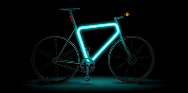 High Tech Urban Bike Concept Design