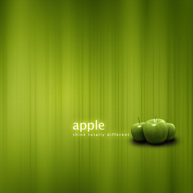 Green-apple-ipad-wallpaper