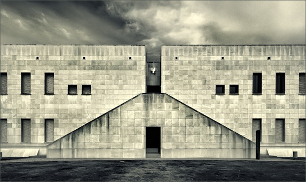 Black and White Architecture photography