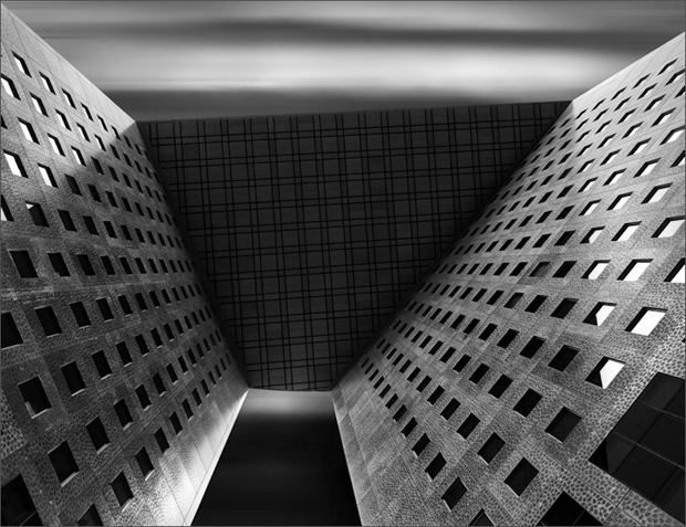 Black and White Architectural and Skyscraper photography