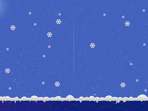 Snow on Desktop