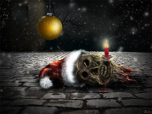 Horror Christmas Wallpaper