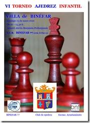 cartel del torneo de Binefar