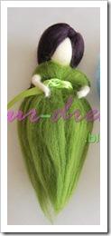fada verde sem asas