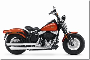 2011 FLSTSB Softail Cross Bones, INTERNATIONAL ONLY,  right broadside